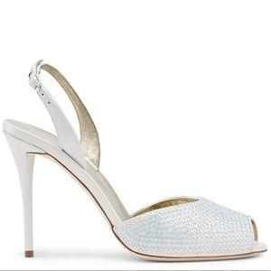 giuseppe zanotti • NEW • crystal 'ice' heels